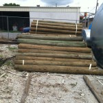 Wood Posts for Fencing at www.standleyfeed.com #standleyfeed