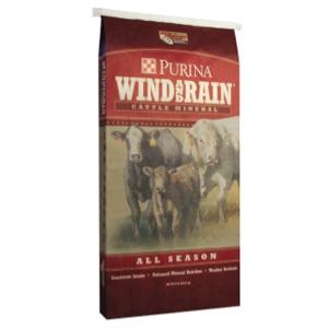 Purina Wind and Rain All Season Cattle Feed www.standleyfeed.com #standleyfeed