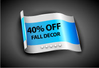 Fall Decor 40 Percent Off