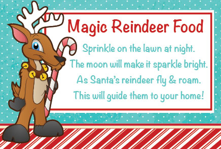 ReindeerFoodPoem FREE Magic Reindeer Food