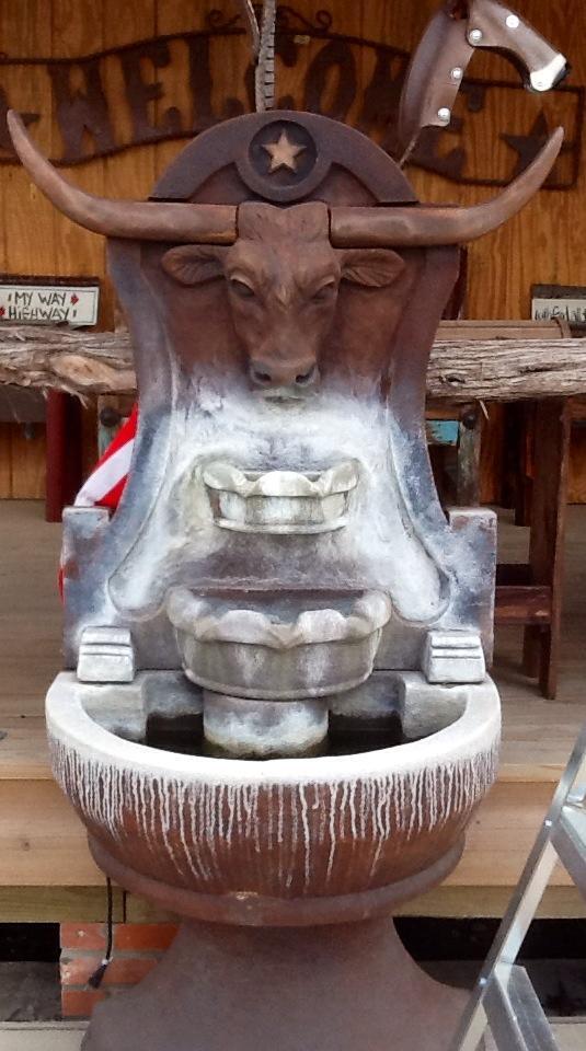 Longhorn Wall Fountain