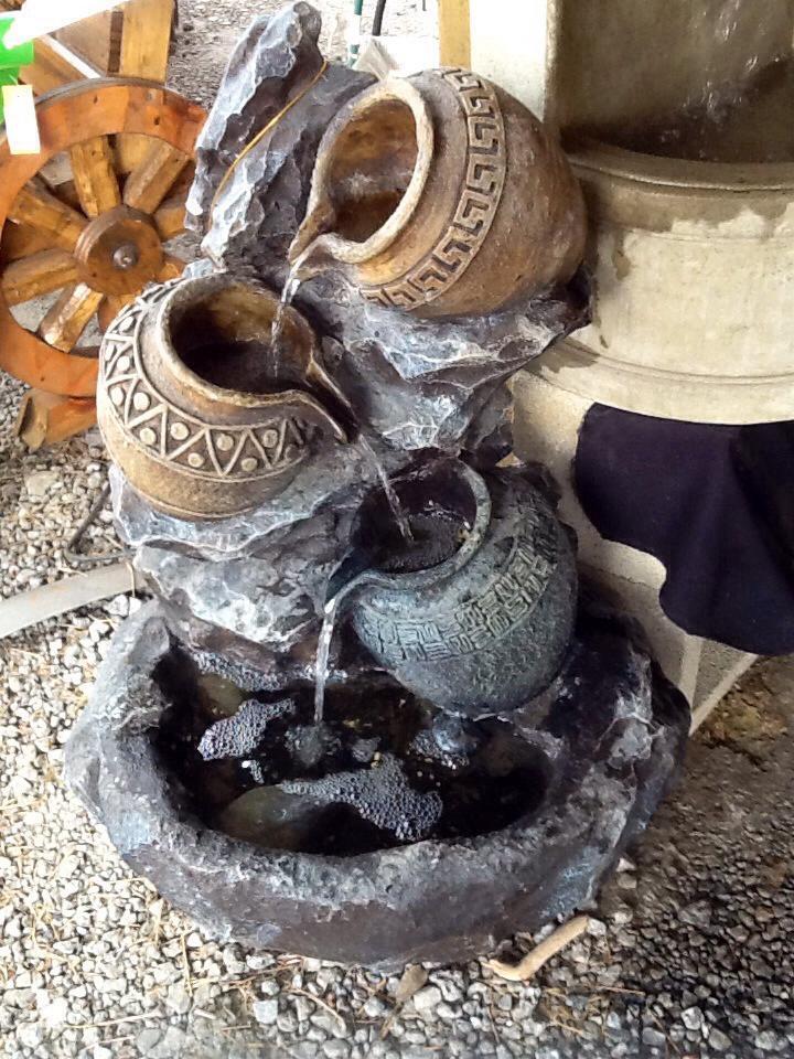 Pots on Rocks