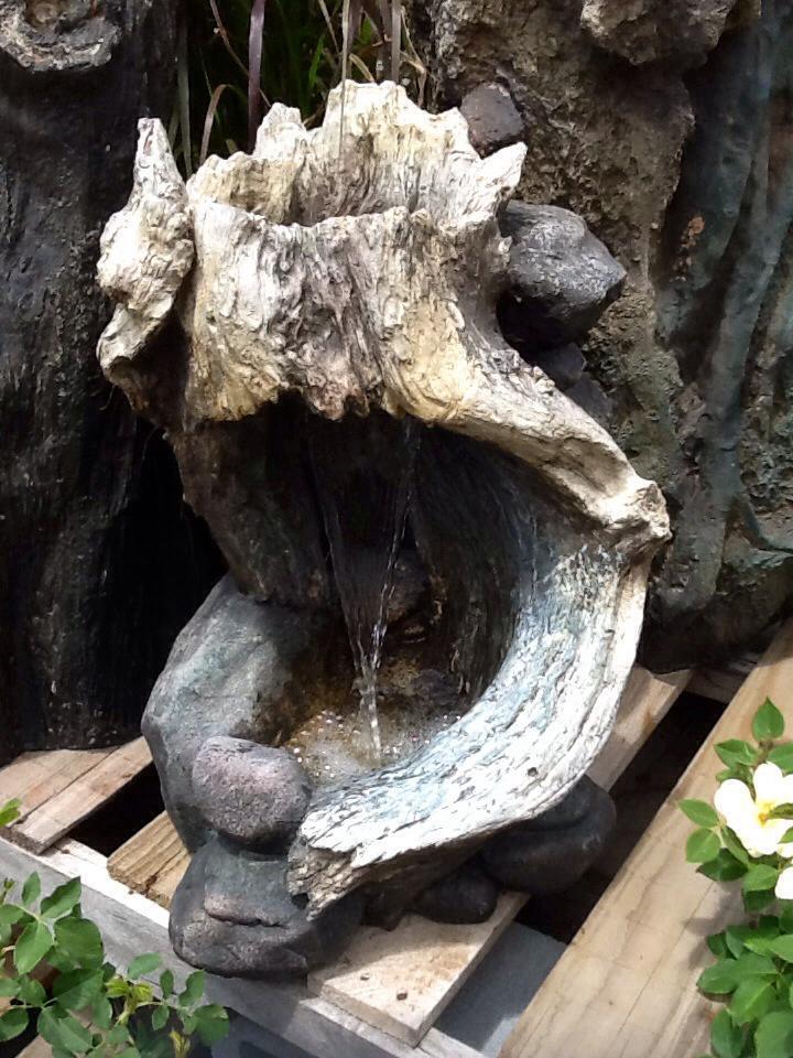 Small Log Fountain