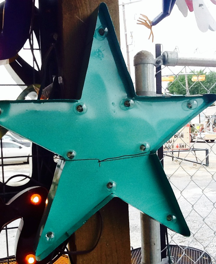Lighted Star Sign