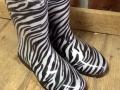 Zebra Rubber Boots