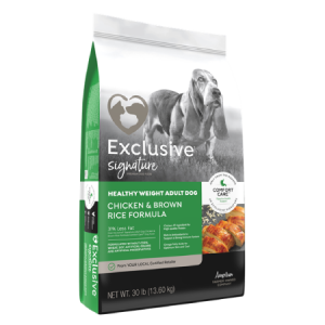 Exclusive Chicken Amp Brown Rice Healthy Weight Adult Dog