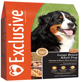 Exclusive Chicken Amp Rice Formula Large Breed Adult Dog