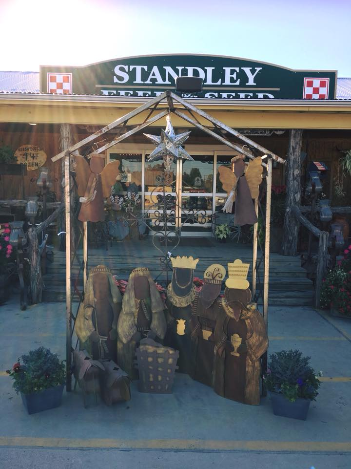 Shop holiday decor, wreaths and metal art at Standley Feed & Seed