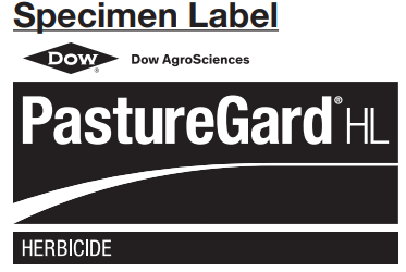 Dow AgroSciences Pasture Guard HL Herbicide