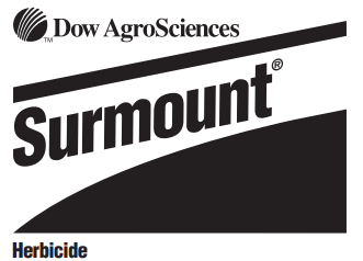 Dow Agrosciences Surmount Herbicide Standley Feed And Seed