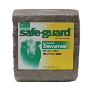 Merck Safeguard Dewormer Block 25 Lb Standley Feed And Seed